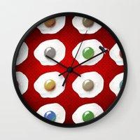 Disco Breakfast Wall Clock