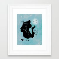 Even Miracles Take A Lit… Framed Art Print