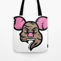 Zombie Piglet Tote Bag