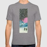 Get Your Bearings Mens Fitted Tee Tri-Grey SMALL