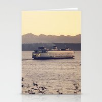 Puget Sound Ferry Stationery Cards