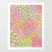 Summer Pattern #4 Art Print