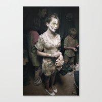 Facelift Canvas Print