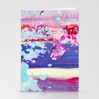 Color Splash #4 Stationery Cards
