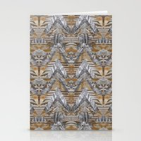 Wood Quilt 2 Stationery Cards