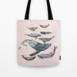 Tote Bag - whales - franciscomffonseca