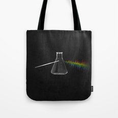 the sound of science Tote Bag