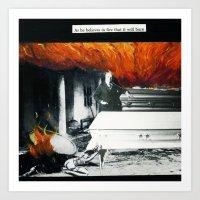 Total Post Mortum Immola… Art Print