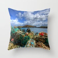 Rodel, Isle Of Harris Throw Pillow