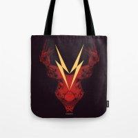 Cervus (Lightning Bolt V… Tote Bag