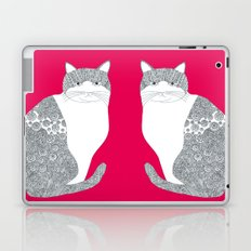 Pink-Cat Laptop & iPad Skin