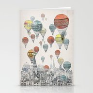 Voyages Over Edinburgh Stationery Cards