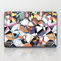 Abstract Geometric Chaos iPad Case