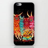 PAKKU-MAN iPhone & iPod Skin