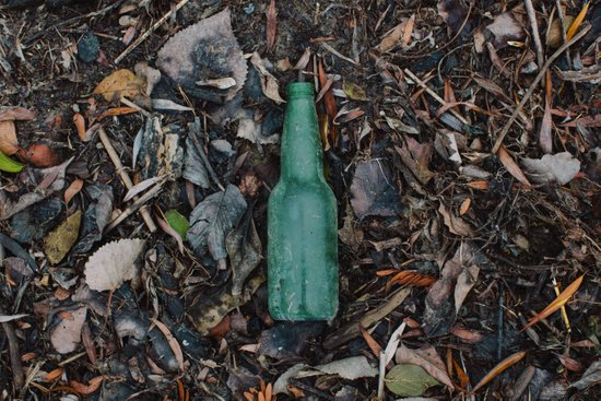 Bottle without a message Art Print
