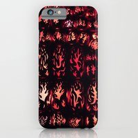 Wall Of Flame iPhone 6 Slim Case