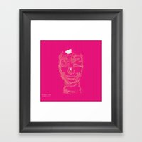 Blurry Mind Framed Art Print