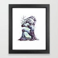 TreeMan Framed Art Print