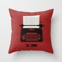 The Shining - Minimalist… Throw Pillow