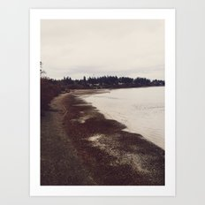 Bainbridge Island @ Seattle, Washington Art Print