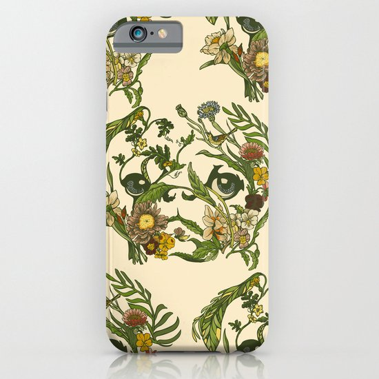 Botanical Pug iPhone & iPod Case