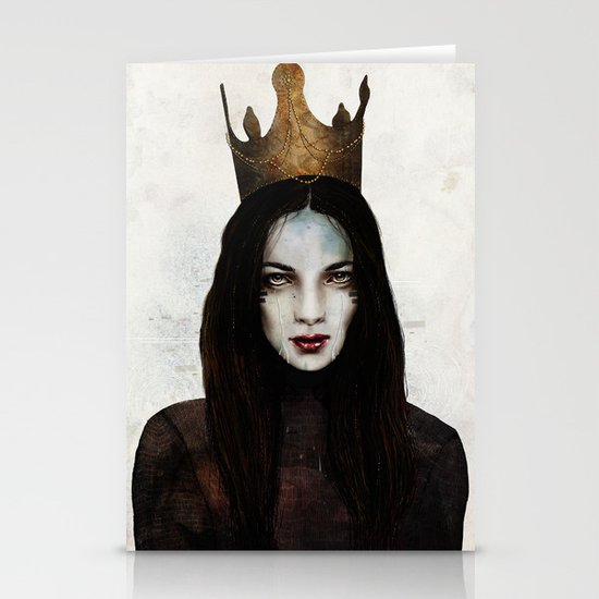 Queen Stationery Card