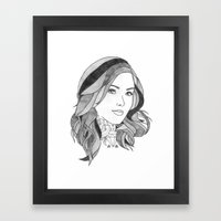 Inked 2 Framed Art Print