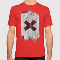 Cross My Heart And Hope … Mens Fitted Tee Red SMALL