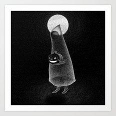 Drawlloween 2014: Ghost Art Print