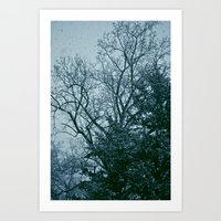 That Cold Feeling Art Print