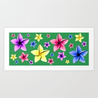 Flower Crazy Art Print