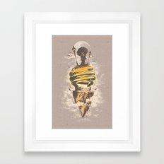 Lighting Up My World Framed Art Print