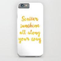 scatter sunshine iPhone 6 Slim Case