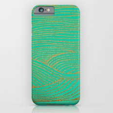 Wind Gold Turquoise Slim Case iPhone 6s
