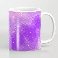 Purple Nebula (8bit) Mug