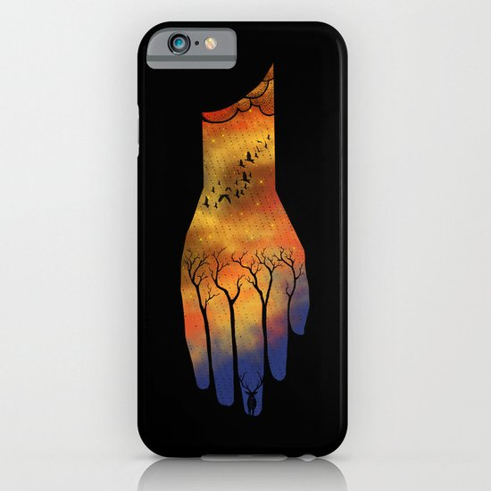 Natural hand iPhone & iPod Case