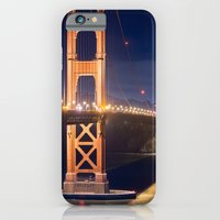 iPhone & iPod Case featuring Golden by WHIT MORE