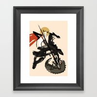 Super New Saint George Framed Art Print