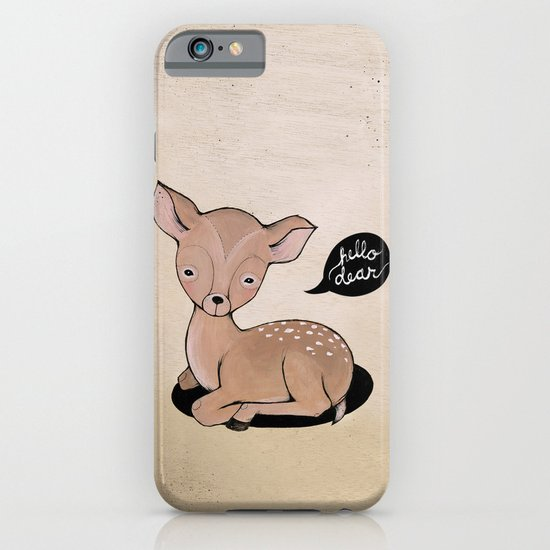 Hello Dear iPhone & iPod Case
