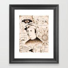 Fibonacci Framed Art Print