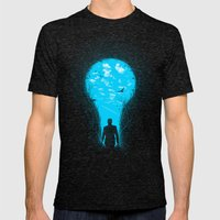 Bright Side Mens Fitted Tee Tri-Black SMALL