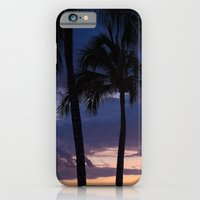 iPhone & iPod Case featuring Palms at Dusk by Ryan Fernandez Photography