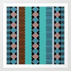 Knitted 1 Art Print