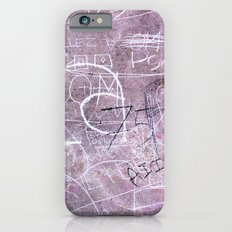 Paris Graffiti iPhone 6 Slim Case