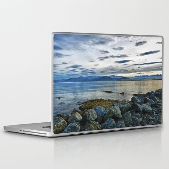 Dusk over South Bay, New Zealand Laptop & iPad Skin