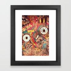 Pinball Wizard Framed Art Print