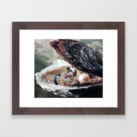 SHELLTER Framed Art Print