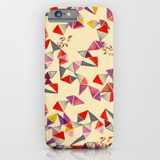 watercolour geometric shapes iPhone & iPod Case