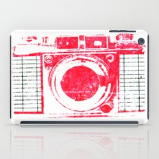 Red Camera iPad Case
