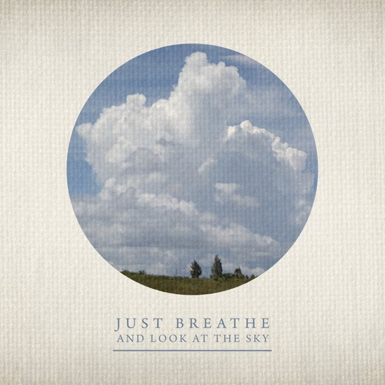 Just breathe and look at the sky Art Print